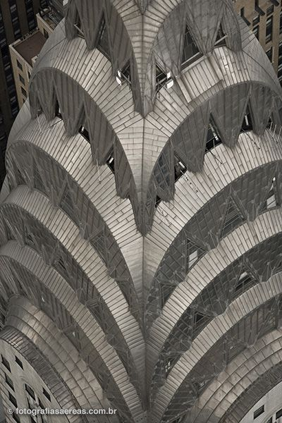 Topo do Chrysler Building, Nova York