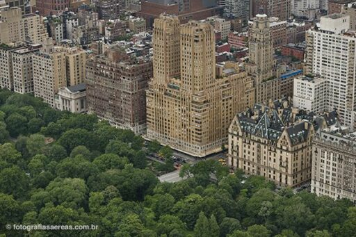 Central Park e West Park Avenue, Manhatan, Nova York